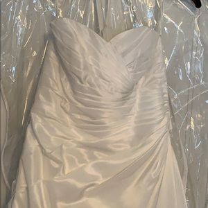 Never worn; David's Bridal; Size 14 wedding gown